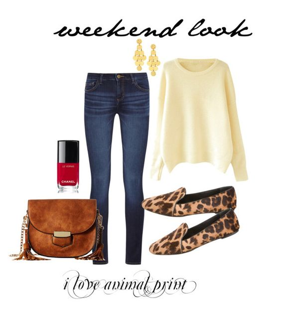 animal print casual